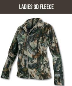 Ladies 3D Fleece