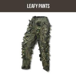 SNIPER LEAFY PANTS