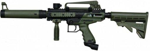 TIPPMANN CRONUS TACTICAL OLIVE PAINTBALL GUN, TIPPMANN CRONUS TACTICAL OLIVE PAINTBALL GUN, Blades and Triggers