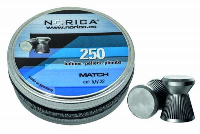 NORICA MATCH PELLETS 5.5MM 250 COUNT