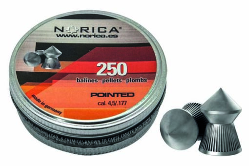 NORICA POINTED PELLETS 4.5MM 250 COUNT