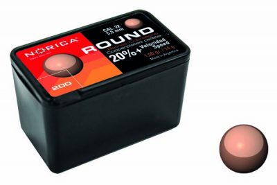 NORICA ROUND PELLETS 5.5MM 200 COUNT