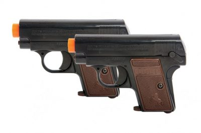 PALCO COLT 25 SPRING PISTOL 6MM TWIN PACK