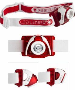 Led lenser SEO5 headlamp red