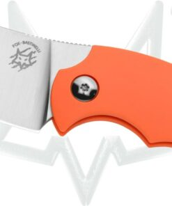 FOX BB Drago Piemonte's Bastinelli design orange FRN handle FX-519 O