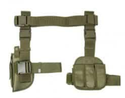 Drop leg Holster and mag pouch X4 - green CV2908G