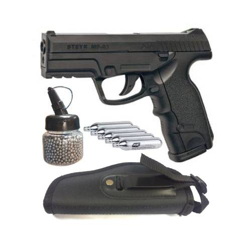 ASG STEYR M9-A1 BB PISTOL – COMBO 2, ASG STEYR M9-A1 BB PISTOL – COMBO 2, Blades and Triggers