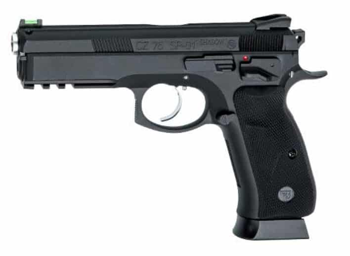 ASG SP01 SHADOW, ASG SP01 SHADOW BB PISTOL WITH PEPPER SPRAY COMBO, Blades and Triggers