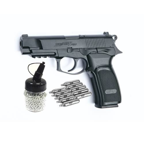 ASG BERSA THUNDER 9 PRO PACKAGE, ASG BERSA THUNDER 9 PRO 4.5MM BB PISTOL COMBO 2, Blades and Triggers