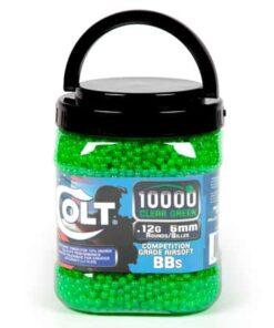 COLT COMPETITION 12 GRAM 10000CT GREEN BBS JAR 779915 01