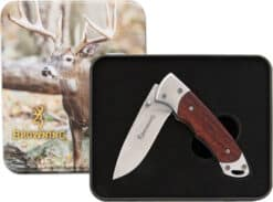 BROWNING WHITETAIL LINERLOCK WITH TIN BR0069 01