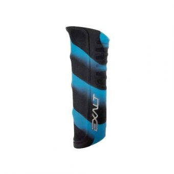 EXALT SHOCKER RSX REGULATOR GRIP BLACK TEAL SWIRL 01