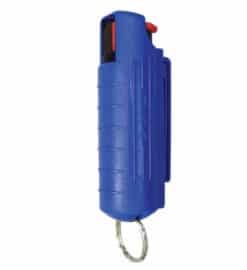 12 oz pepper spray wblue hardcase keyring clamshell 01