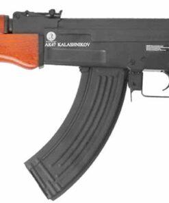KALASHNIKOV AK47 AEG BLOWBACK FULL METAL REAL WOOD BLACK BROWN 12916 01
