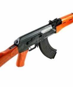 KALASHNIKOV AK47 AEG BLOWBACK FULL METAL REAL WOOD BLACK BROWN 12916 02