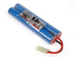 battery 9.6v 1100mAh Battery NiMH Small Mini Type 01