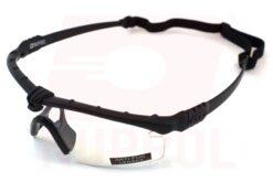 NP Bbattle Pros Black Frame Clear Lense