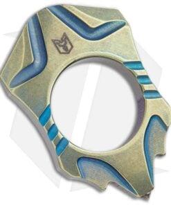 Bestech Knives BM03 Gold Titanium Knuck 1