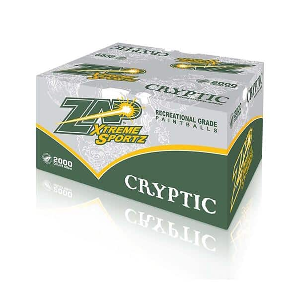Zap Cryptic Paintballs, Zap Cryptic Paintballs, Blades and Triggers