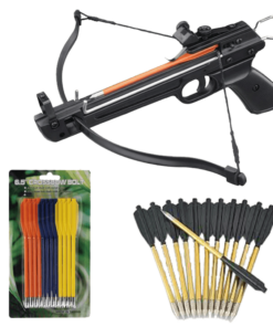 Pistol Crossbow With Arrow Bolts Combo