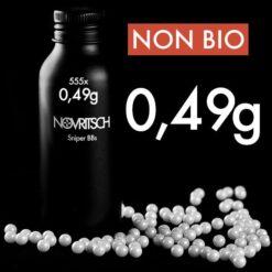 Novritsch 0.49g x 555pcs Sniper BBs