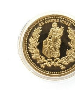 Microtech Continental Coin - Gold Embellished 24K