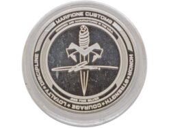 Marfione Custom Knives Custom 25th Anniversary Silver Challenge Coin - 501-COIN