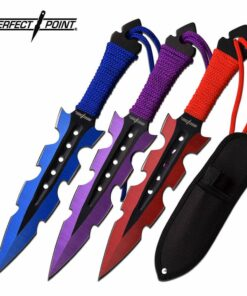 PP-110-3MC perfect point throwing knife set
