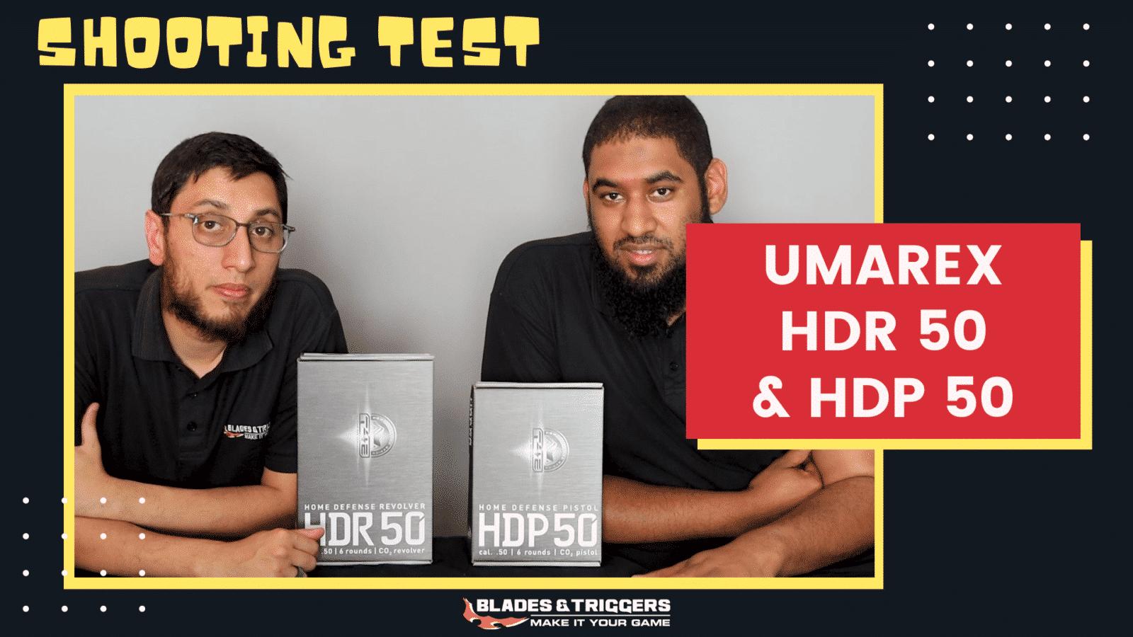 Umarex HDR 50 & HDP 50