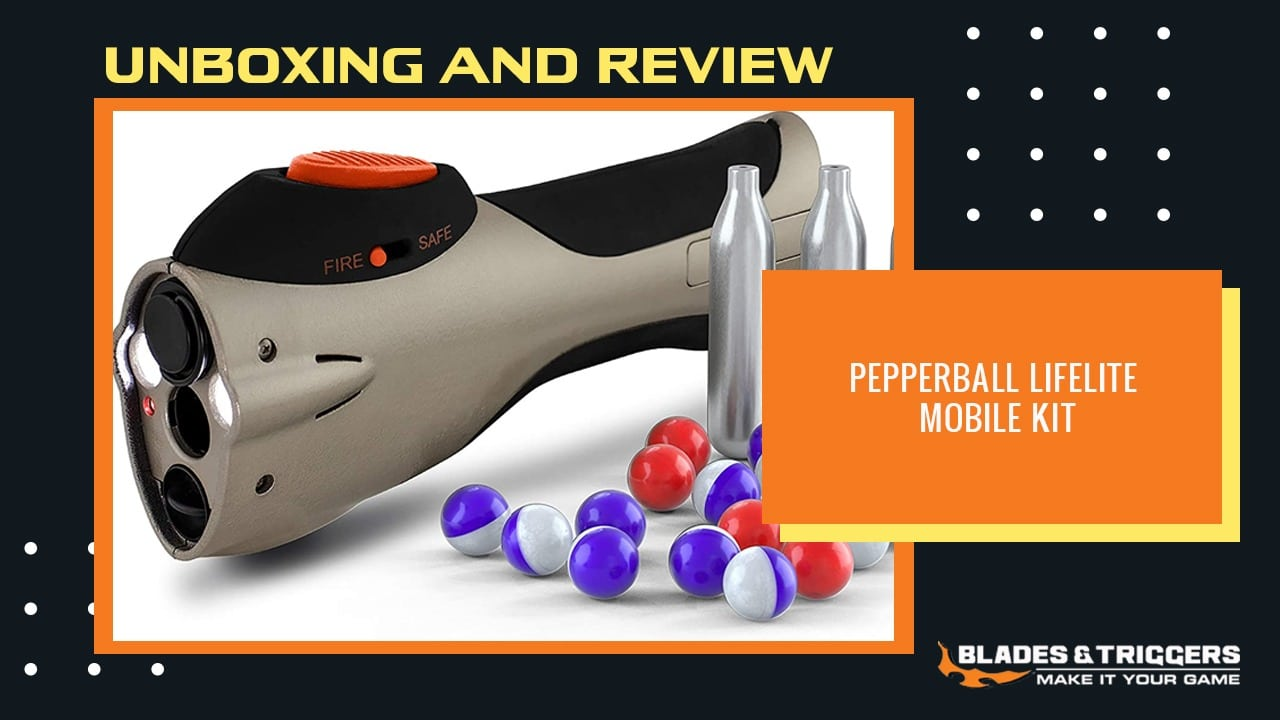 Pepperball Lifelite Mobile Kit Unboxing and Review