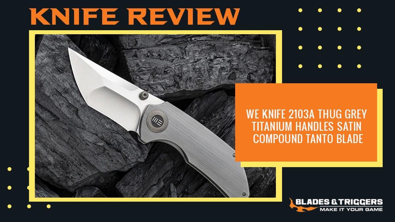 we knife 2103a thug