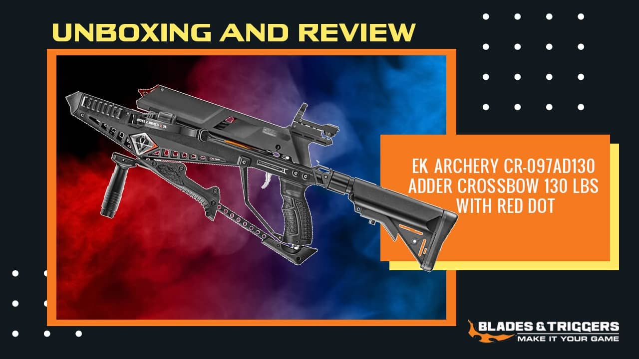 Ek Archery Cr 097ad130 Adder Crossbow 130 Lbs With Red Dot Review